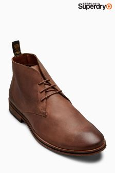Superdry Saddle Brown Trenton Chukka Boot