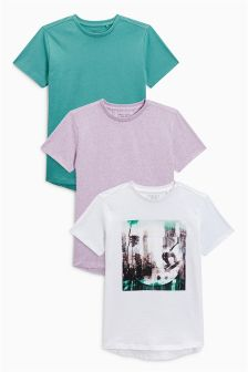 Graphic T-Shirts Three Pack (3-16yrs)