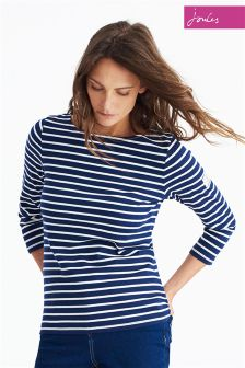 Joules Navy Stripe Harbour Top