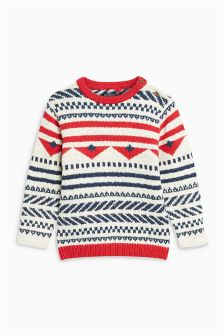 Fairilse Pattern Jumper (3mths-6yrs)