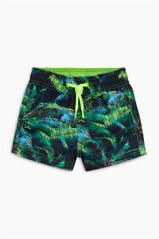 Hibiscus Print Swim Shorts (3mths-16yrs)