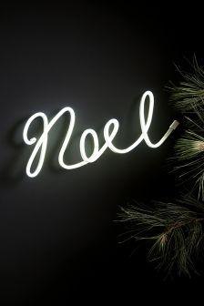 Neon Noel Word
