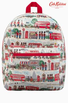 Cath Kidston Cream London Streets Padded Backpack