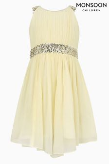 Monsoon Lemon Skye Dress
