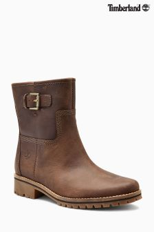 Timberland® Medium Brown Saddleback Main Hill Biker Boot
