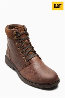 CAT® Brown Baked Nyles Padded Collar Boot