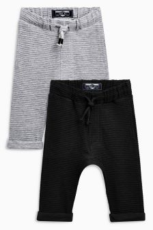 Ottoman Joggers Two Pack (3mths-6yrs)
