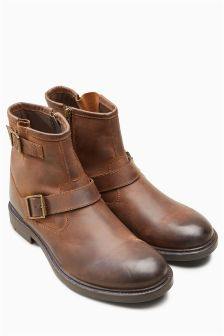 Buckle Strap Boot