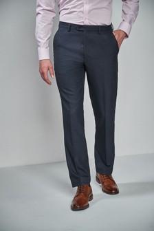 Textured Birdseye Suit: Trousers
