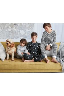 Star/Stripe Pyjamas Three Pack (2-12yrs)
