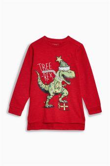 Tree-Rex Long Sleeve Top (3-16yrs)