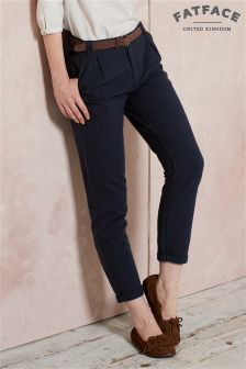 Fat Face Navy Hayling Tapered Trouser