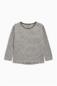 Oversized Long Sleeve Top (3-16yrs)