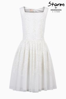 Monsoon Ivory Buenita Dress
