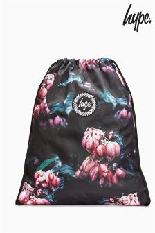 Hype Floral Mist Drawstring Bag