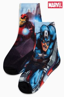 Avengers Socks Two Pack (Older Boys)