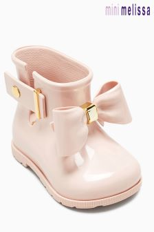 Mini Melissa Blush Sugar Rainbow Welly