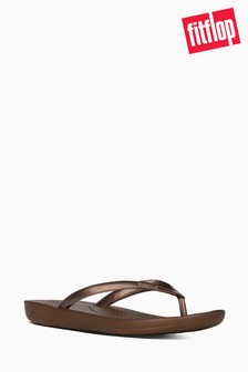 FitFlop™ Bronze Iqushion Ergonomic Flip Flop