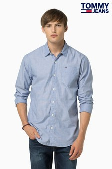 Tommy Jeans Light Blue Shirt