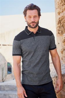 Premium Tipped Stripe Polo