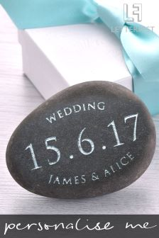 Personalised Special Occassion Decorative Pebble By Letterfest
