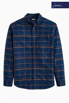 Joules Midnight Flannel Buchanan Shirt