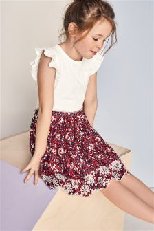 Ditsy Floral Dress (3-16yrs)