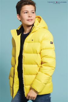 Tommy Hilfiger Yellow Ame Down Jacket