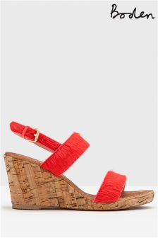 Boden Pink Louisa Wedge