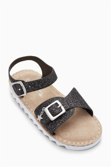 Glitter Sporty Sandals (Younger Girls)