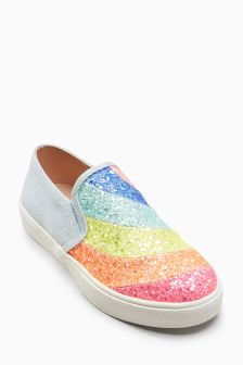 Glitter Skater Shoes (Older Girls)