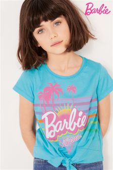 Barbie Knot Front T-Shirt (3-16yrs)
