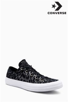 Converse Black Metallic Glitter Ox