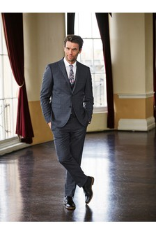 Signature Check Tailored Fit Suit