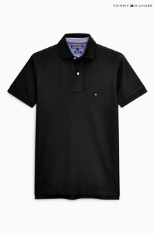 Tommy Hilfiger Black Performance Polo Top