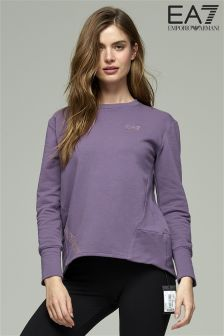 Emporio Armani EA7 Grape Sweat Top