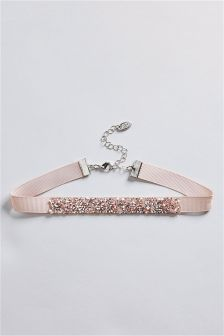 Sparkle Fabric Choker