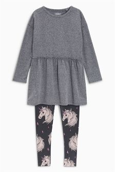 Dress And Legging Set (3-16yrs)
