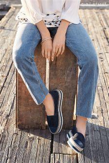 Mint Velvet Light Indigo MONTANA Straight Leg Jean