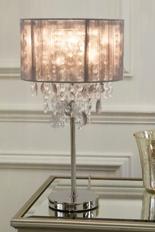 palazzo smoke table lamp
