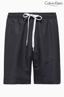 Calvin Klein Black Drawstring Swim Short