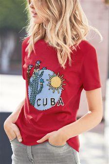 Cuba Graphic Tee