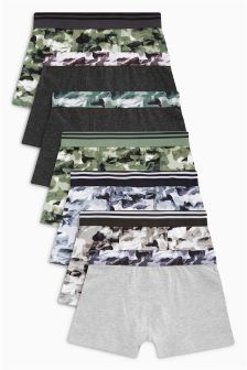 Camo Trunks Seven Pack (2-16yrs)