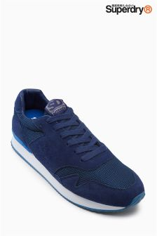 Superdry Navy/Cobalt Athletic Trainer