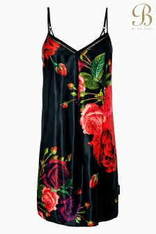 B by Ted Baker Juxtapose Rose Red Floral Chemise