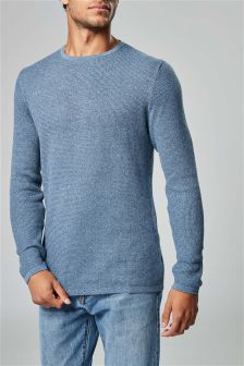 Lightweight Textured Crew