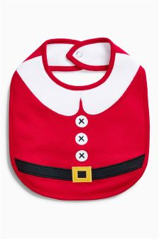 Santa Regular Bib