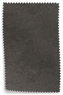 Monza Leather Effect Charcoal Fabric Roll