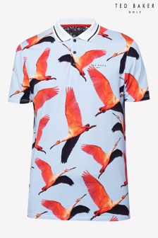Ted Baker Golf Blue Bird Polo