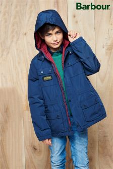 Barbour® Navy International Nyloc Jacket